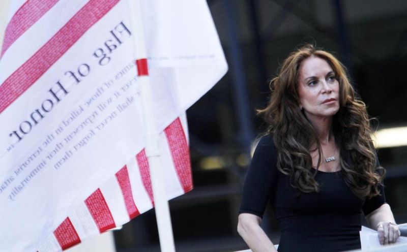 Pamela geller mosque rally