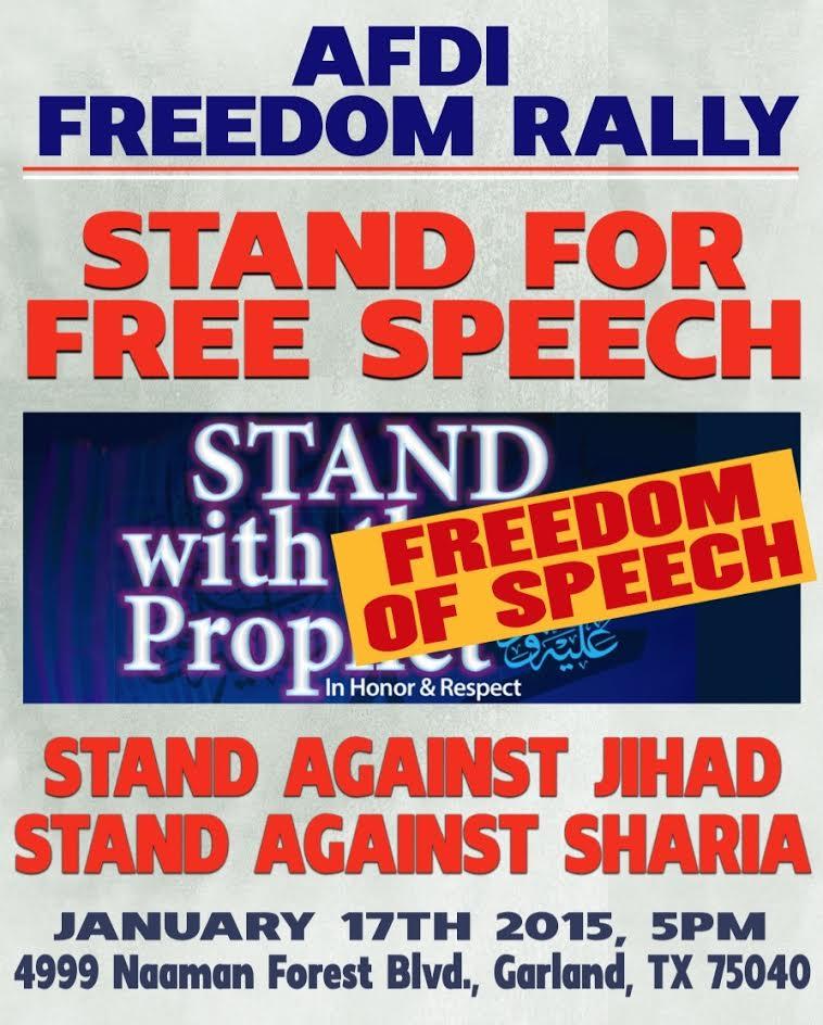 Freedom rally afdi texas